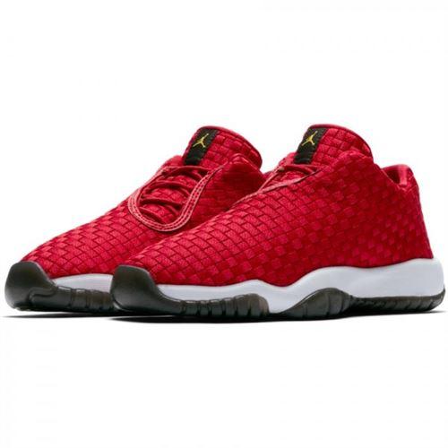 Chaussure de Basket Jordan Future Low rouge pour enfant ...