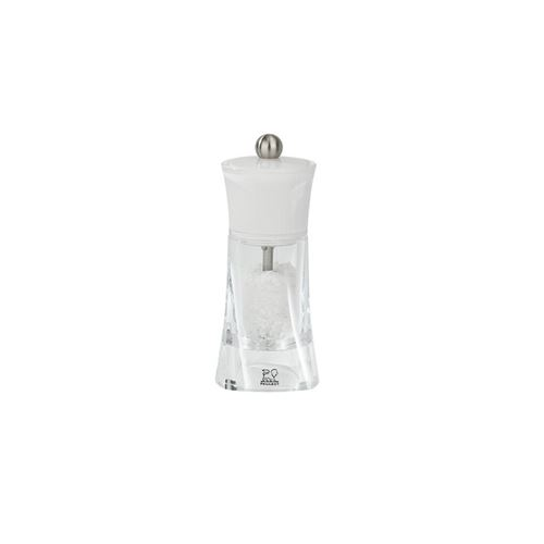 Peugeot - Moulin à sel manuel en acryl couleur blanc 14 cm