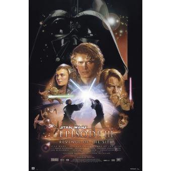 Affiche Star Wars Episode III