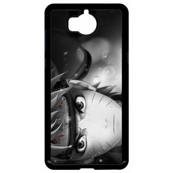 Coque huawei y5 2017 modèle 2017 naruto black and white