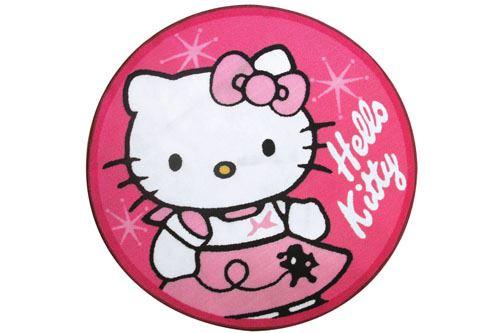 Tapis rond Hello Kitty