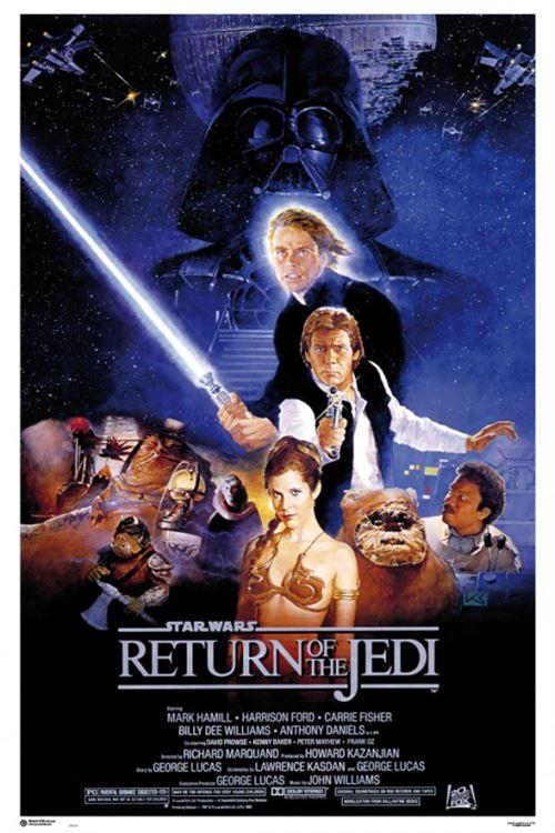 star wars poster - Épisode vi, le retour du jedi, affiche de cinéma