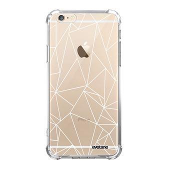 Coque pour iPhone 6 6S anti choc souple avec angles renforces transparente Outline Tendance Evetane