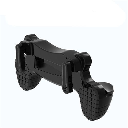 Contrôleur de manette de jeu 3 vitesses PUBG Pour téléphone-noir