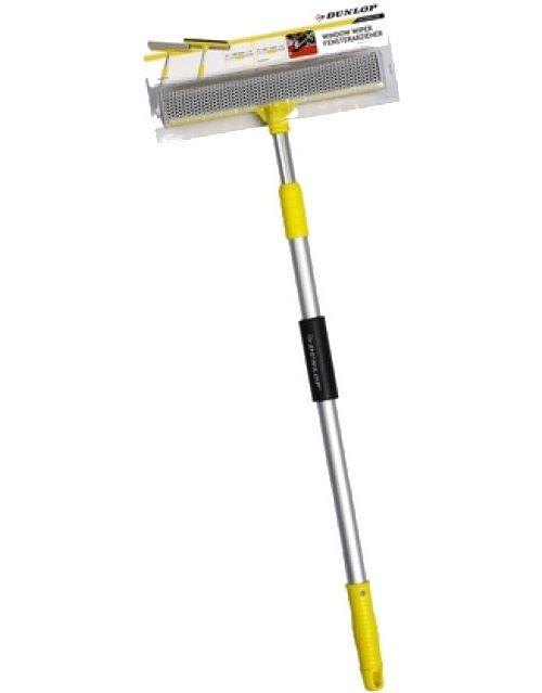 Dunlop racloir poignée télescopique 70-110 cm jaune