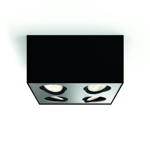 Plafonnier Box 1 - Noir