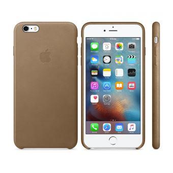 iphone 6 coque marron