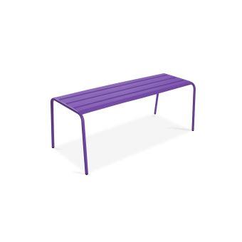 Banc De Jardin Palavas Violet Mobilier De Jardin Achat Prix