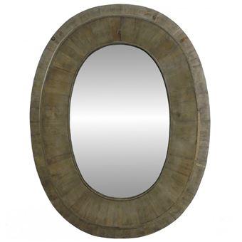 l 39 h ritier du temps grand ou g ant miroir ovale glace murale en bois style ancien oeil de. Black Bedroom Furniture Sets. Home Design Ideas