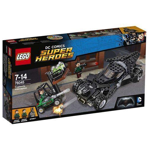 LEGO Super Heroes 76045: Jouet d'interception en Kryptonite Batman v Superman