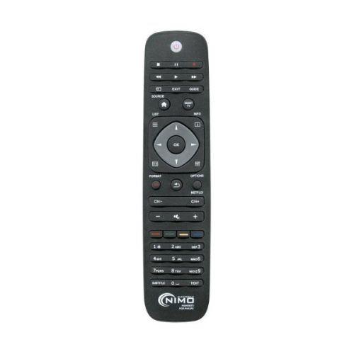 Télécommande Universelle pour Philips NIMO MAN3073 Noir