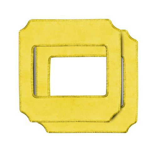 Lot de 2 lingettes de remplacement jaune pour le robot lave-vitres connecté
