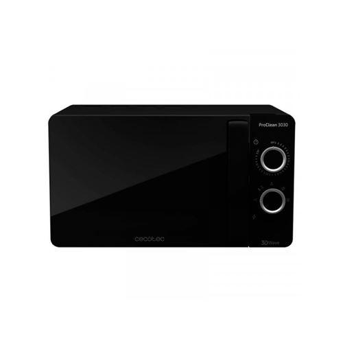 Cecotec ProClean 3030 - Four micro-ondes monofonction - pose libre - 20 litres - 700 Watt - noir