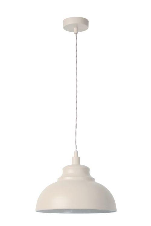 Lucide ISLA - Suspension - Ø 29 cm - Crème