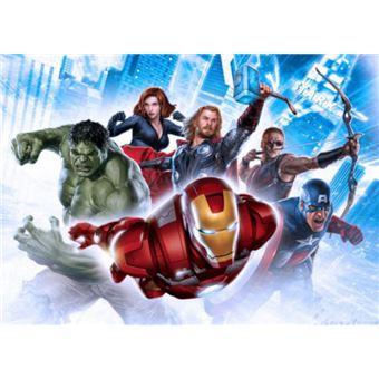 Avengers Papier Peint Photoposter Iron Man Hulk Thor Et Héros