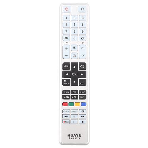 Télécommande de Télévision RM-L1278 pour Toshiba