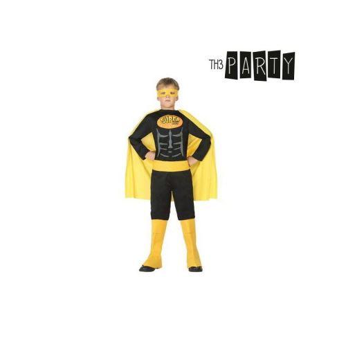 Déguisement pour Enfants Super héros Noir (Taille 10-12 Ans)