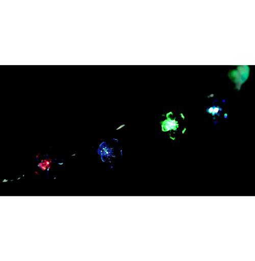 Guirlande lumineuse fleurs - Changement de couleurs - 20 LED