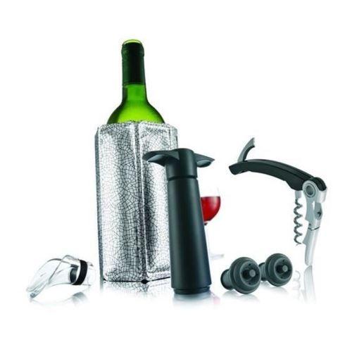 Coffret giftset wine essentials vacu vin 68890