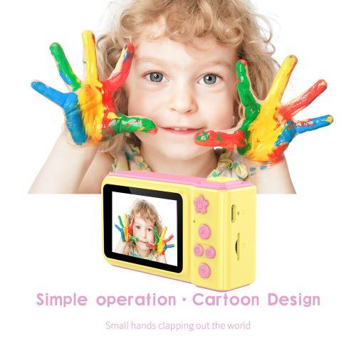 2.4HD écran Appareil photo numérique 3MP et Jeu 2 en 1 Caméscope pour les enfants wedazano49