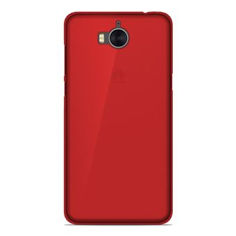 pretty nice buying now top fashion Coque silicone gel Huawei Y6 2017 motif Rouge