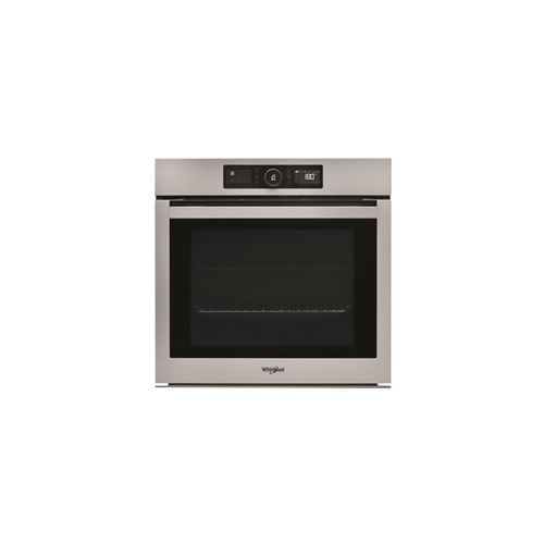 WHIRLPOOL Four multifonction, PYROLYSE 73 L CLASSE A+ INOX ANTITRACE
