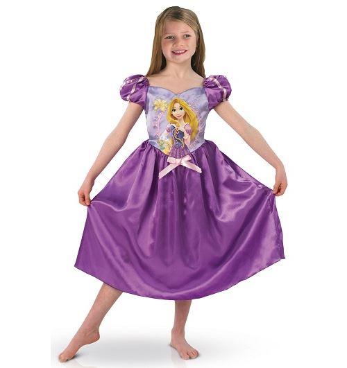 Déguisement raiponce classique taille 7/8 ans - disney princess