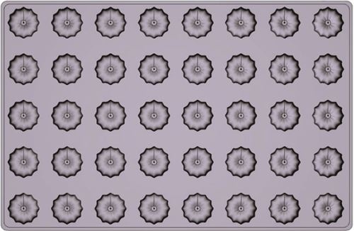 Mallard ferrière moule silicone premium 40 caneles
