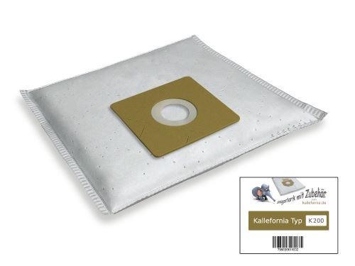 Kallefornia k200 20 sacs pour aspirateur THOMAS 785.036 ECO POWER