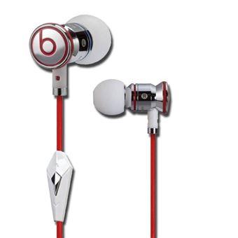 Monster iBeats Écouteurs by Dr.Dre intra auriculaire pour iPhoneiPadiPod Blanc