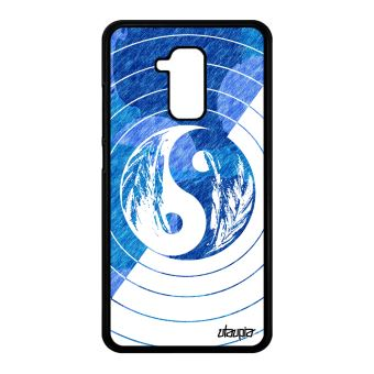 Coque Yin Et Yang Honor 5c Silicone Homme Ying Dessin Couleur Swag