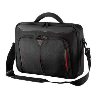 2c08f154b5 Sacoche Targus Classic+ Clamshell Noir et Rouge pour PC Portable 15.6