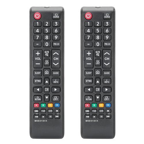 Télécommande de Télévision pour SAMSUNG 2 pcs