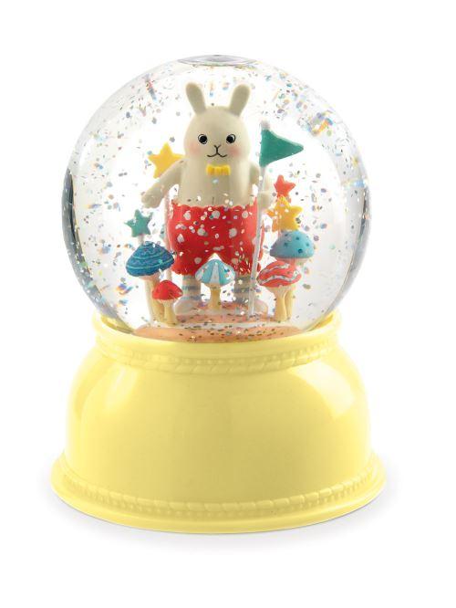 Veilleuse neigeuse Petit lapin Djéco