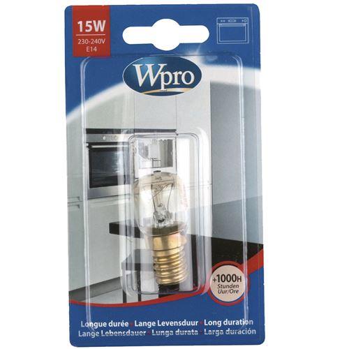 Ampoule pour four et micro-ondes Wpro LFO139