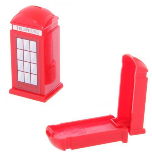 Brillant à lèvres cabine téléphonique