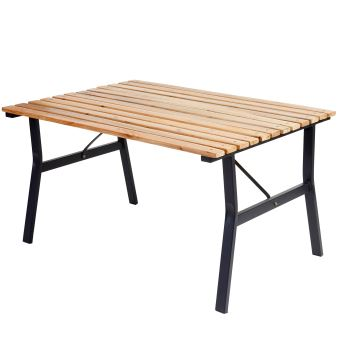 Table de jardin Granada II, table en bois dur d\'eucalyptus ...