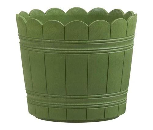 Emsa bac a fleurs country - oe 35 cm - vert