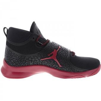 site réputé d0d49 69620 Chaussure de Basketball Jordan Super Fly 5 PO Noir rouge ...
