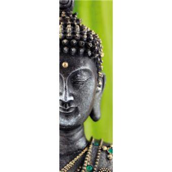Bouddhisme Papier Peint Photo Poster Statue Bouddha Vert 1