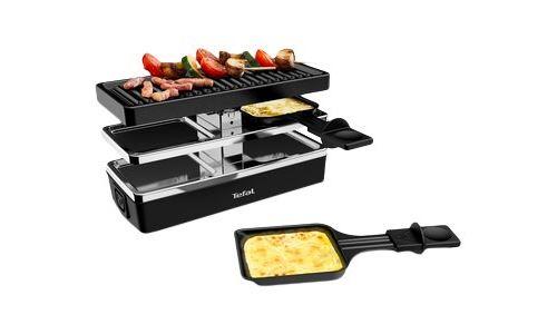 Appareil à raclette Tefal Plug & Share RE230812 400 W Noir et Gris