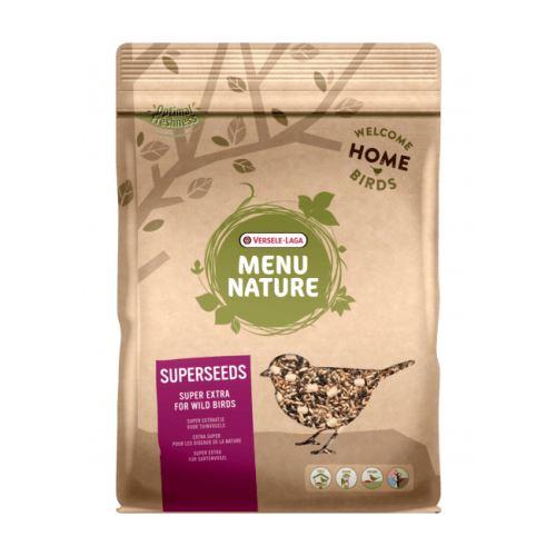 Mélange de graines à haute valeur nutritive pour oiseaux sauvages versele laga menu nature sac 1 kg