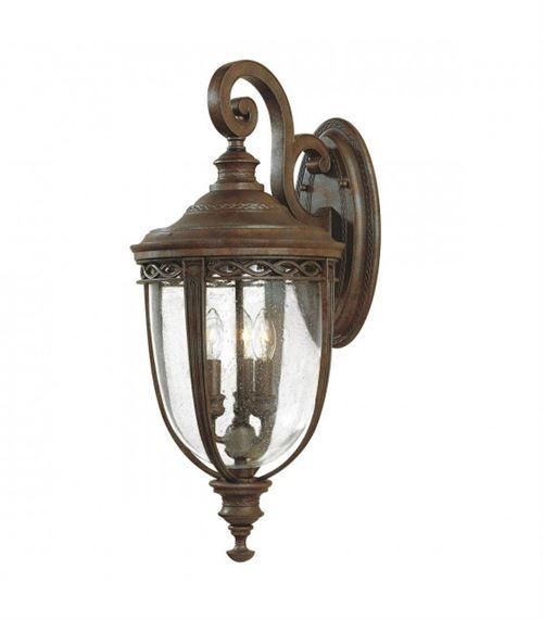 Applique English Bridle, bronze, grande