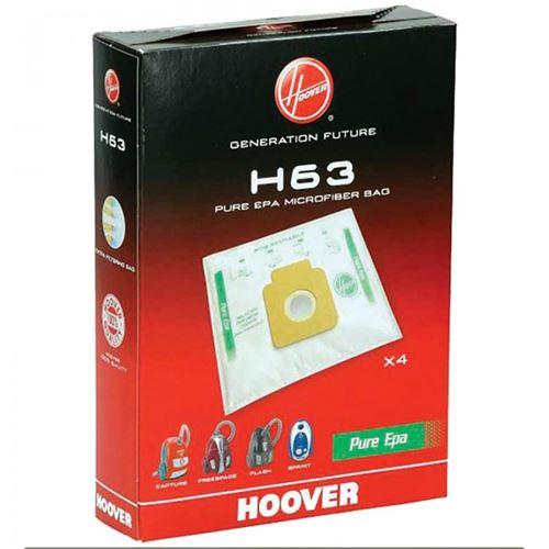 Sacs (x4) h63 pure epa freespace sprint pour aspirateur hoover - 9205400