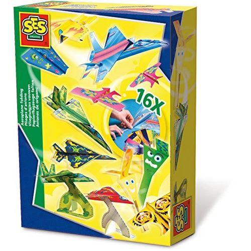 Kit de pliage d'avion en papier SES Creative