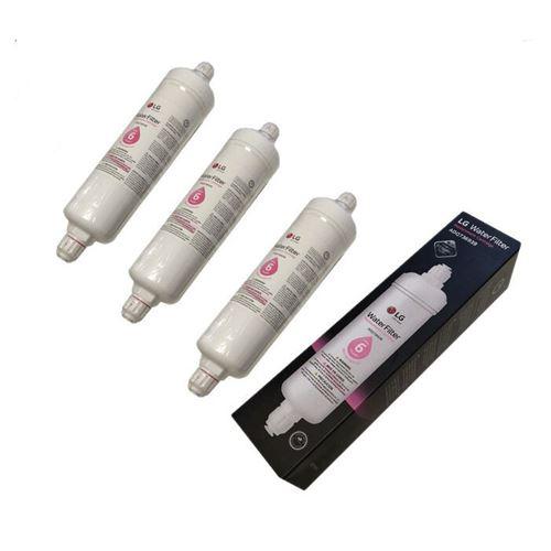 Lot de 3 filtres a eau externe pour refrigerateur americain lg - 2nf4873064