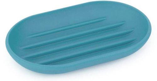 Umbra - Porte savon en plastique moulé Touch Bleu lagon