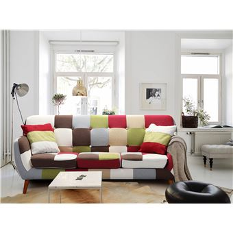 3 Places Multicolore Canapé Scandinave Bombay fIgYb6yv7