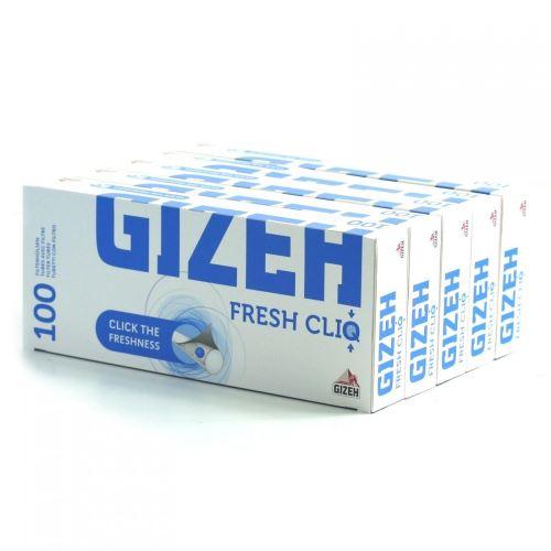 Lot de 5 Boîtes de 100 tubes à Cigarettes Fresh Cliq - Gizeh