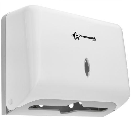 Distributeur d'essuie-mains en papier de couleur blanche 268x103x204mm